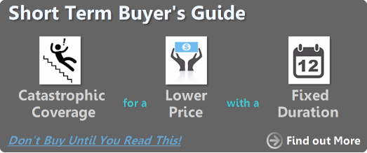 Short Term Buyers Guide - Catastrophic coverage for a lower price with a fixed duration